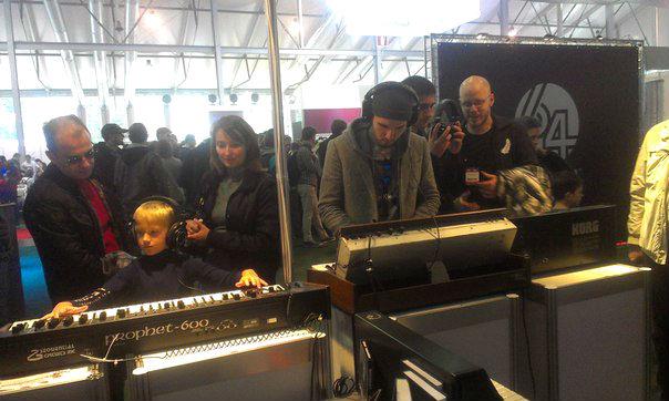 01 - Винтажный звук ретро клавишных на выставке NAMM Musikmesse Russia