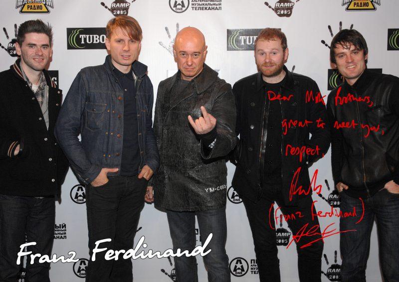 Franz Ferdinand - 🎤Фронтмен Franz Ferdinand Алекс Капранос пообещал, что группа выпустит новый материал в скором времени