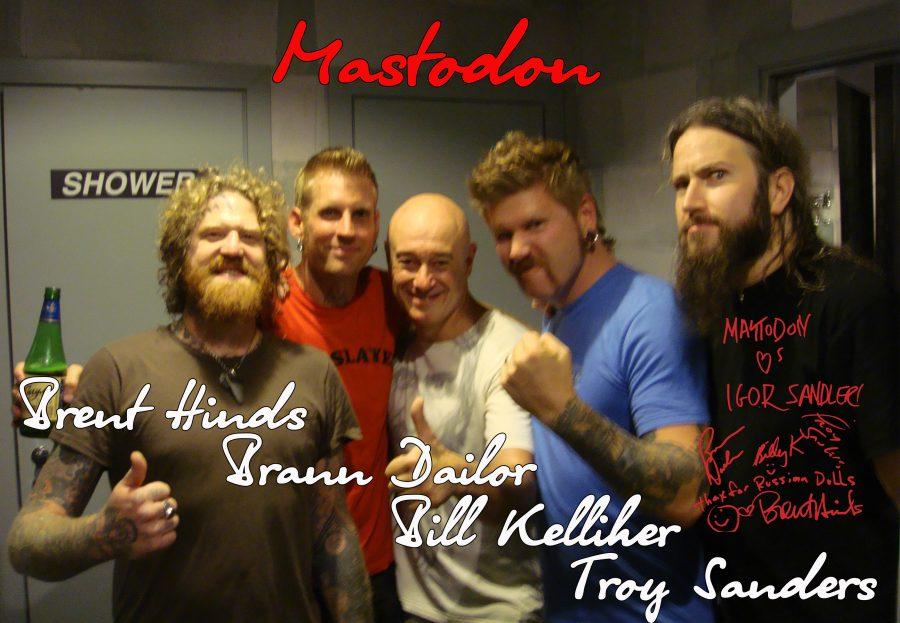 Mastodon e1503414992134 - Mastodon могут выпустить новый альбом быстрее, чем вы думаете, — уже в сентябре этого года