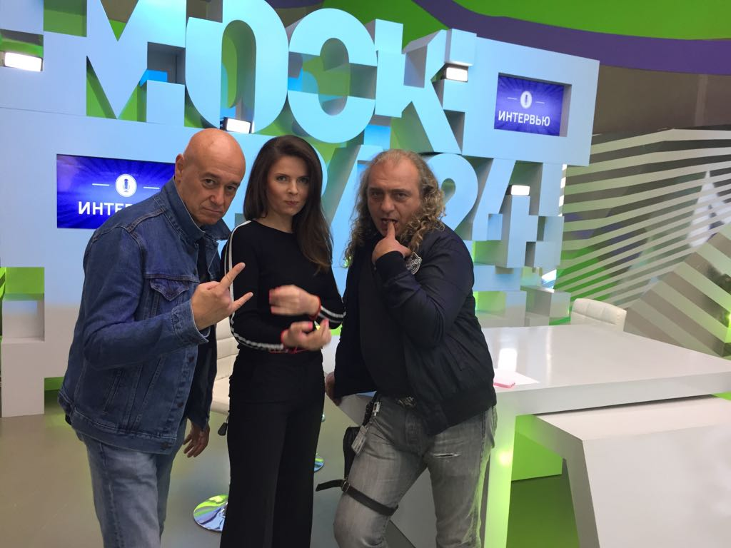 tvmoscow242 - Интервью с Игорем Сандлером на Москва24! О фестивалях и конкурсах, и конечно же о глобальном проекте вместе с газетой ВЕЧЕРНЯЯ МОСКВА.