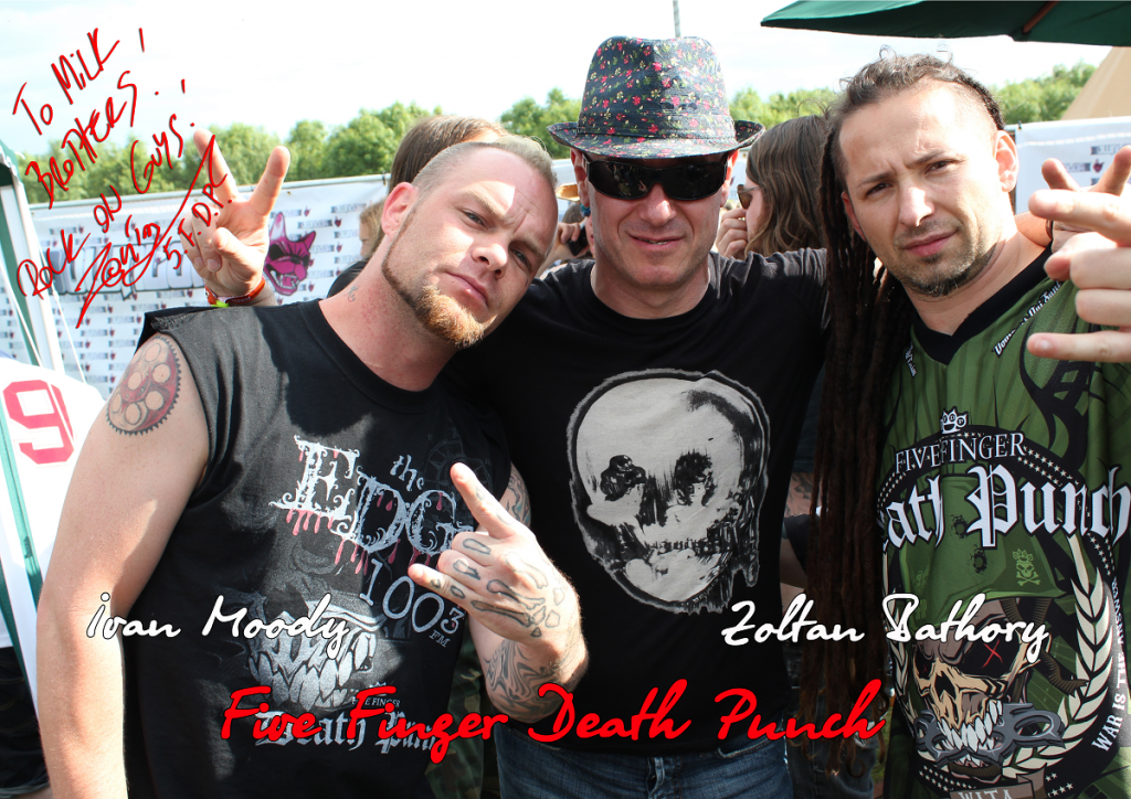 """Five Finger Death Punch1 1024x724 - друзья Игоря Сандлера группа """"Five Finger Death Punch"""" выпустит новый альбом в следующем году"""