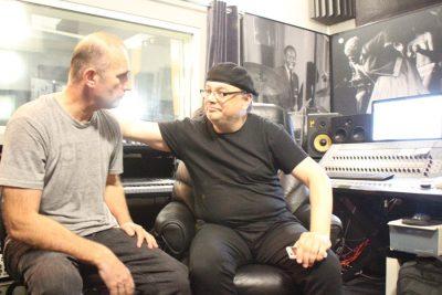 photo081117 36 - экс-ударник группы РОНДО Николай Сафонов пишет у нас на студии ИГОРЯ САНДЛЕРА свой новый музыкальный проект.