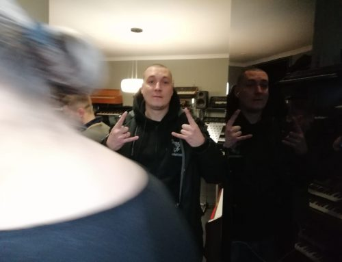 известный хип-хоп исполнитель Рома Жиган у нас в студии
