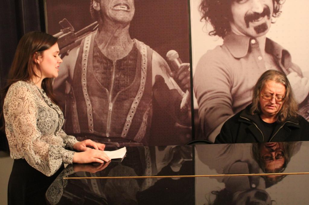 IMG 0519 1024x682 - Дина Гарипова репетирует в нашей студии перед Евровидением