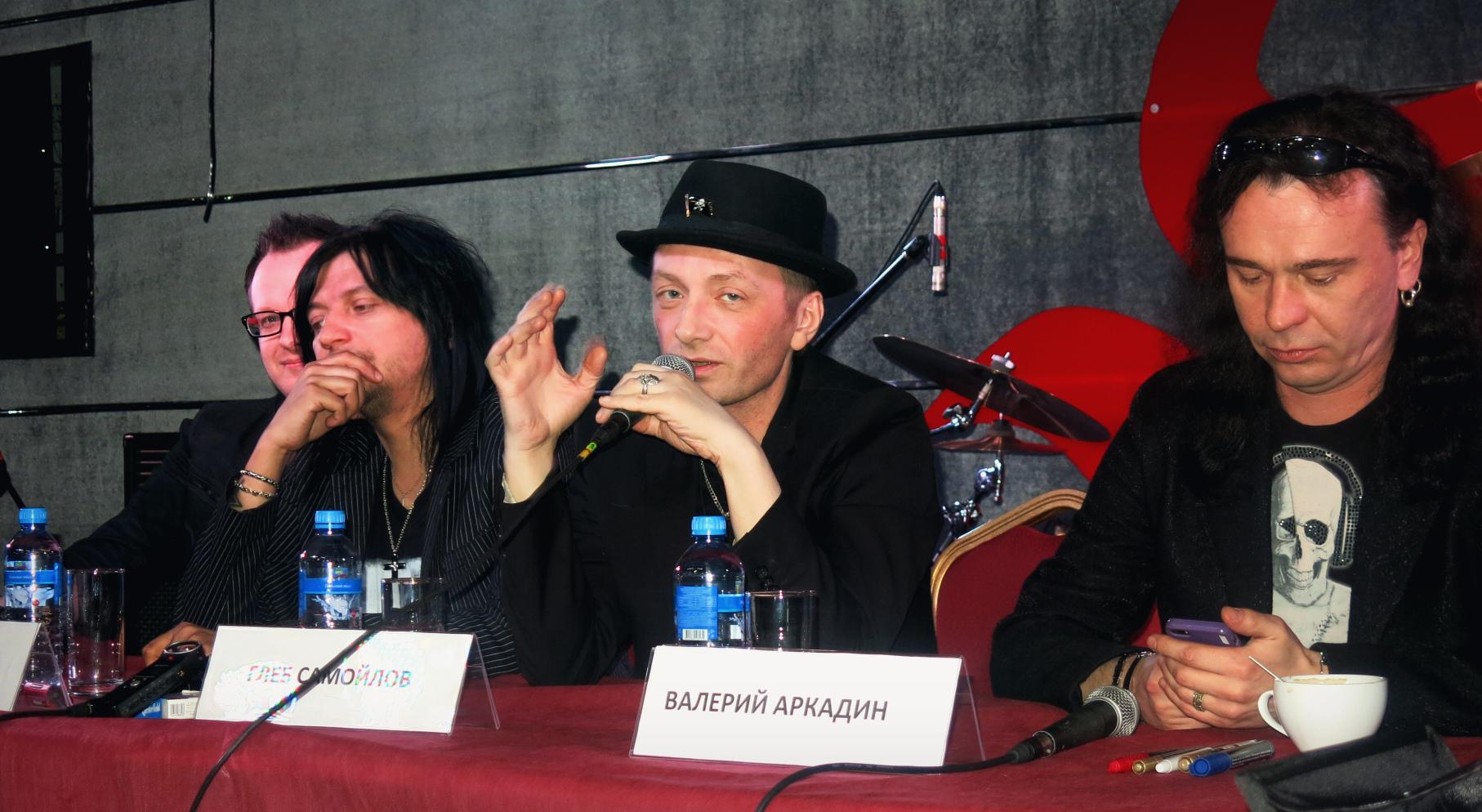 IMG 5373 - Пресс-конференция группы The MATRIXX и Глеба Самойлова
