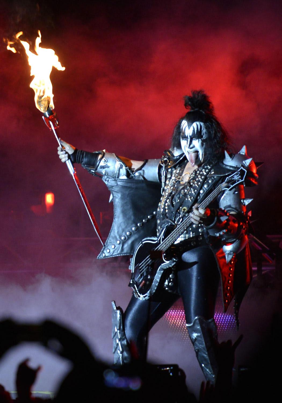 """kiss1 - Фотоотчет со вчерашнего концерта группы """"Kiss"""""""
