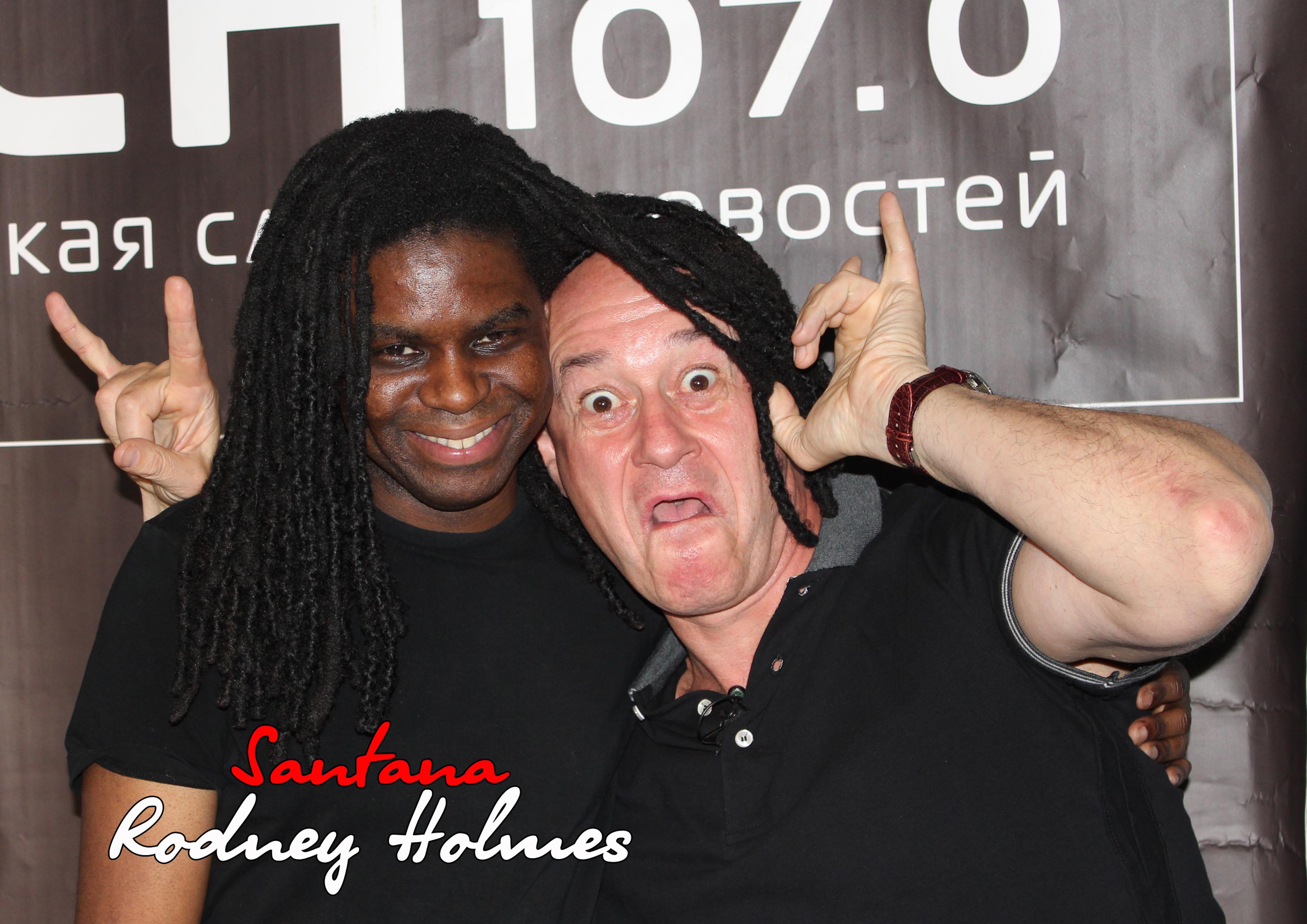 """Rodney Holmes - Авторская программа """"Беседы о роке и джазе"""" на РСН"""