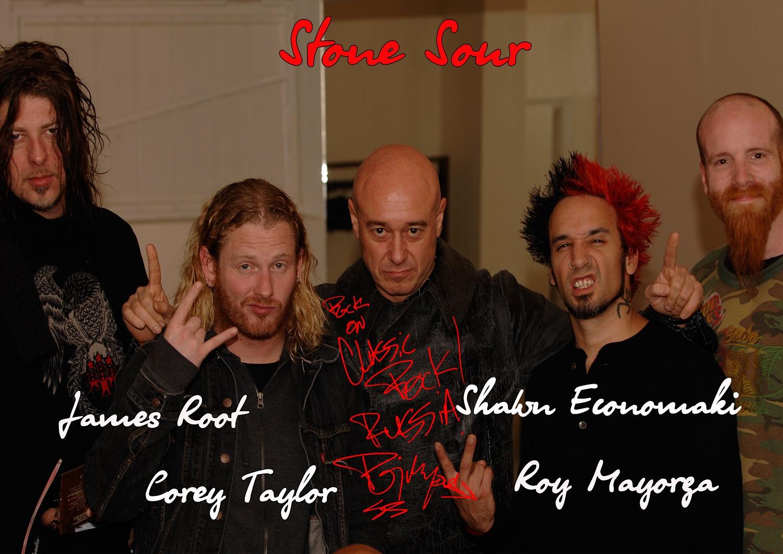 Stone Sour 1 - Кори Тейлор зачитал отрывок из своей новой книги America 51