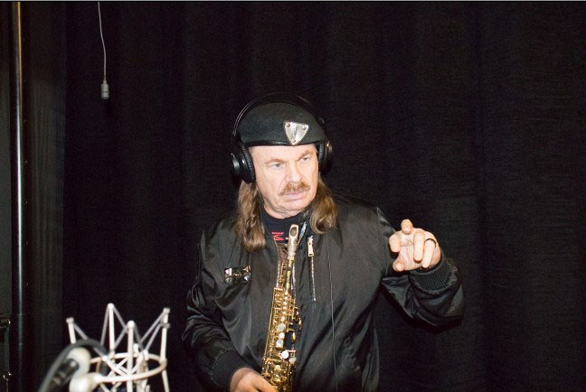 091117 8 - Владимир Пресняков-старший на студии Игоря Сандлера!