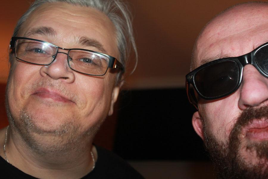 натан и ферапонтов2 - теперь на студии Игоря Сандлера будут не только записывать, но и ПРОДЮСИРОВАТЬ!