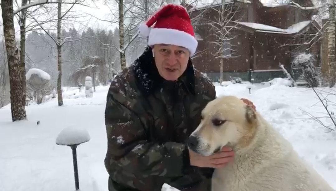 сандлер с новымгодом2018 1 - видео поздравление продюсера Игоря Сандлера с Новым Годом!