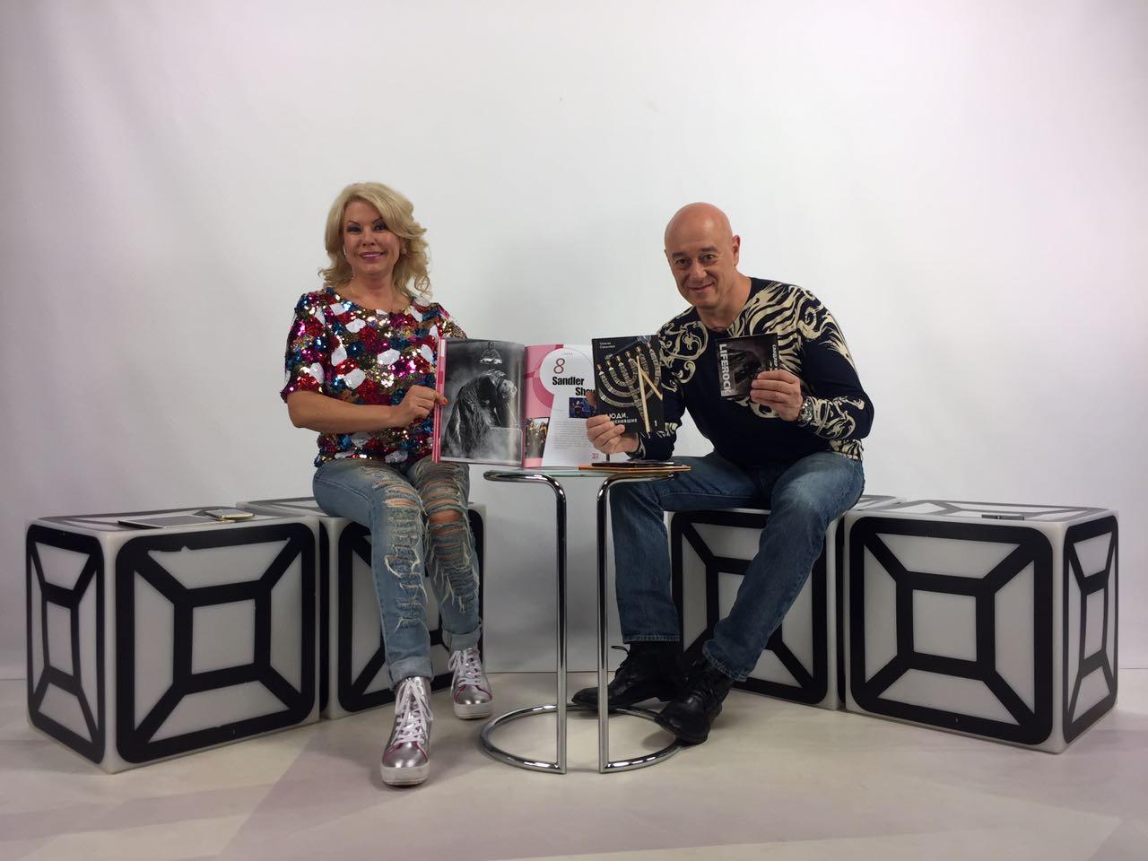 sandler musicbox - часовая программа об Игоре Сандлере на телеканале MusicBox!